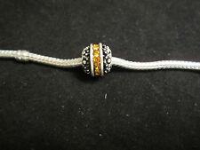 925 Sterling Silver European Bead Charm Birthstone November