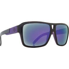 Dragon Alliance The Jam Sunglasses Jet Black Purple Ionized Mirrored Lens NEW