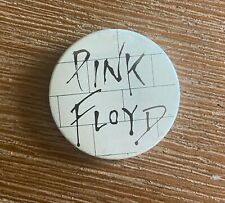"ORIGINAL BADGE 1980s PINK FLOYD ""THE WALL"" BADGE, PIN"