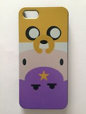 Brand New Iphone 5 or 5S Hard Plastic Adventure Time Jake/Finn/Lumpy Phone Cover