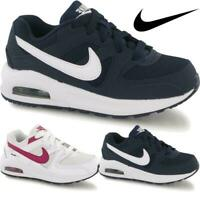 Kids Boys Girls Sports Lace Up School Nike Air Max Command Trainers Shoes Sizes