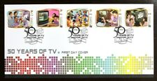 Singapore Stamp 2013 50 Years of TV Broadcast FDC