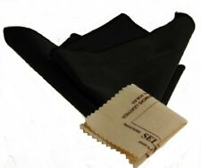 Black Horosafe (12x12) & 1 Selvyt 5x5 Polishing Cloth Set