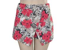 Polyester Mid-Rise Skorts for Women