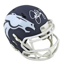 Broncos John Elway Authentic Signed Amp Speed Mini Helmet BAS Witnessed