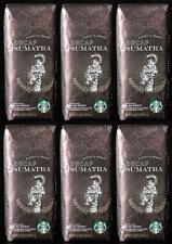 LOT 6 LBS Starbucks Decaf Sumatra Whole Bean Coffee - BBD JANUARY 2020