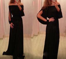 Vestito da donna lungo abito vestitino damigella cerimonia party ballo festa