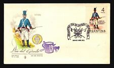 Argentina 1964 Ejercito FDC / Painted Cachet / UA - L3332