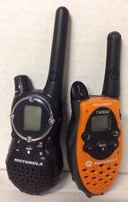 2 X LOT:  1 Motorola T8510TPR & 1 Motorola T4900 Two-Way Radios Walkie Talkies