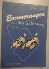 Erinnerungen an den Sachsenring -Günter Geyler , 1.Auflage 1994 === SELTEN