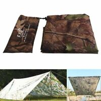 Waterproof Camping Shelter Sunshade Tarp Tent Rain Cover Outdoor Folding Awning