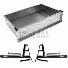 Club Car DS 1982-2000.5 Golf Cart Aluminum Diamond Plate Utility Cargo Box Kit