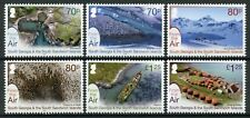 South Georgia & Sandwich Isl Landscapes Stamps 2020 From Air Mountains 6v Set