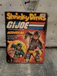 New 1983 gi joe shrinky dinks activity set by Colorforms set