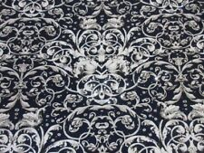 """1 yards 30"""" stretch spandex lycra fabric beautiful print silver sequin dots"""