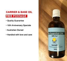 SWEET ALMOND 100ML Carrier & Base Oil •FREE POSTAGE• Pure & Natural Aromatherapy
