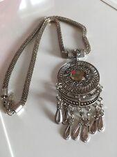 Ladies Wallis Costume Jewellery Pendant Necklace Heavy New