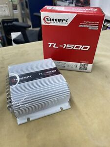 Taramps TL1500 - 390W RMS 3 Ch Car Amplifier - Bass And Highs Amp - USA Dealer!