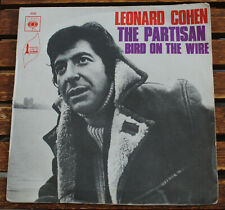45 TOURS leonard cohen the partisan bird on the wire