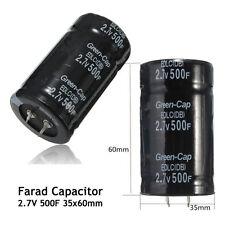Car Automobile FARAD Capacitance Capacitor 2.7v 500f 35 X 60mm Super Capacitor