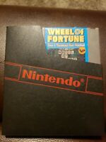 Wheel of Fortune Family Edition (Nintendo NES) W/ Dust Cover **Tested Working**