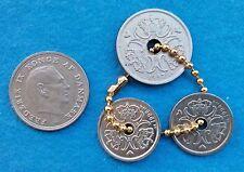 DENMARK 1967 1 KRONE, 1994 & 1998 1 KRONE, 1997 2 KRONE COINS