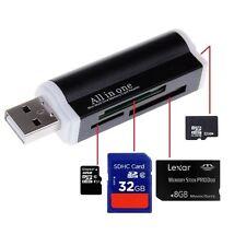 Todo En Uno Todo En 1 lector de tarjetas de memoria USB Adaptador Para Micro SD MMC SDHC TF M2