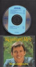 REINHARD MEY Menschenjunges 1977-1987 CD INTERCORD HOLLAND EARLY ISSUE MINT