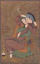 Liebespaar Künstler-AK Riza Abbasi Iran Persien 1702257