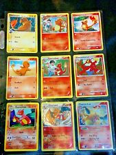 Pokemon Card/Tarjeta 4 Charmander, 3 Charmeleon, 2 Charizard Card