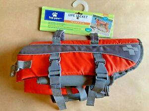 NEW Top Paw Adjustable Dog PFD Life Jacket MEDIUM - 30-55 Lbs