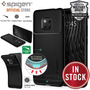 Genuine SPIGEN Rugged Armor Slim Soft Cover for Huawei Mate 20 Pro Mate 20 Case