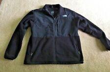 The North Face Mens Denali Fleece Polartec Jacket Size XL Black on Black