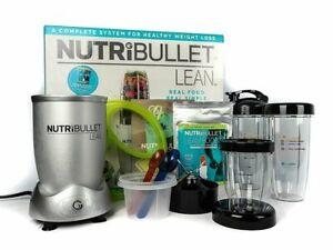 NutriBullet Lean 1200W Hi-Speed Blender/Mixer, 13-Piece Set