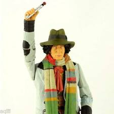 Doctor Who Action Figure 4th Fourth Doctor Tom Baker With Sonic Screwdriver New