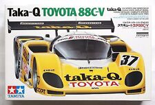 TAMIYA 1/24 Taka-Q Toyota 88C-V w/ Cartograf decal #24083 scale model kit