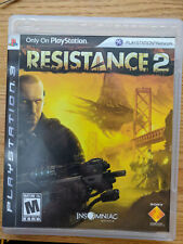 Resistance 2 ps3 Game with Original Box and Manual