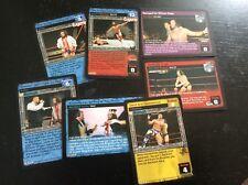 Eugene WWE Raw Deal 7 card lot wth 2 Premium Rares William Regal