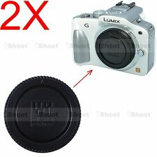 2x Micro 4/3 Kamera Gehäuse Deckel für Panasonic LUMIX GH2 GH3 GH4 GX1 GX7 GX8