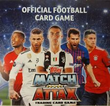 topps MATCH ATTAX UEFA CHAMPIONS LEAGUE Trading Card Base Set of 315 NO FOILS