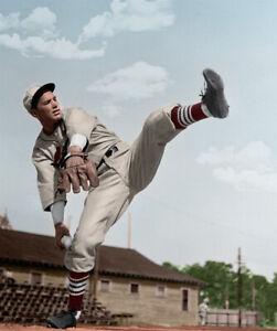 Dizzy Dean 11x14 - 1934 St Louis Cardinals - PERSONALLY COLORIZED!!!!