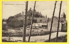 cpa FRANCE Ecrite en 1915 FORBACH (Moselle) Le vieux CHÂTEAU