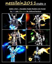 Diablo 3 PS4/Xbox One - Charakter Paket - 150 Portale 100% Unsterblich/Immortal