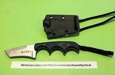 CRKT FOLTS MINIMALIST KNIFE 2386 /5Cr15MoV TANTO BLADE /RESIN FIBER HNDL/ SHEATH
