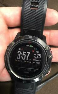 Garmin Fenix 5X Plus Sapphire Edition 51mm GPS Multisport Watch Black