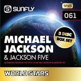 MICHAEL JACKSON 3 DISC KARAOKE BOXSET - SUNFLY KARAOKE - 45 TRACKS
