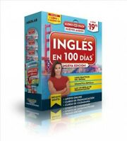 Inglés en 100 días / English in 100 Days, Paperback by Aguilar (COR), Brand N...