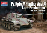 [ACADEMY] Pz.kpfw.V Panther Ausf.G Last Production  #13523  Plastic model  1 /35