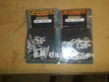 Warhammer 40K Praetorian Guard Las-cannon(2 Packs!) - Rare OOP - Imperial