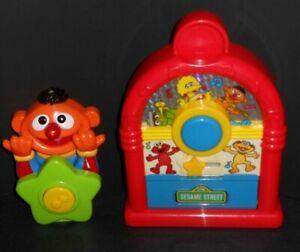 VTG Lot Tyco Sesame Street ~ Musical Spin Jukebox & Ernie Musical Giggle Tunes